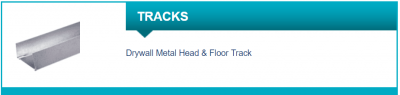 Libra Drywall Metal Head & Floor Track