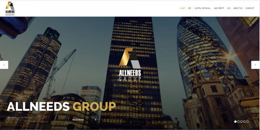 New Allneeds Group Website
